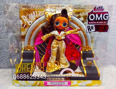 Кукла LOL Surprise OMG Remix Collector Jukebox B.B. Лол Ремикс Омг Селебрити 569879