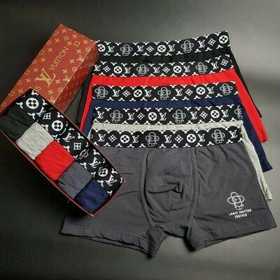 Мужские трусы Louis Vuitton NEW. Хлопок 95% эластан 5%. Цена 500 грн.