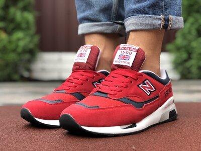 Кроссовки мужские New Balance 1500 красные