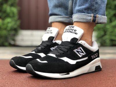 Кроссовки мужские New Balance 1500 черные, замш