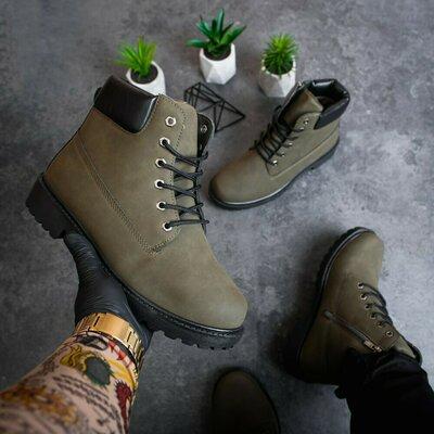 Зимние ботинки. Качество отличное