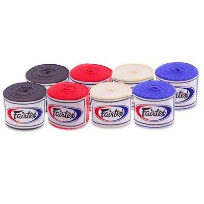 Бинты боксерские Fairtex HW2-5 длина 5м, хлопок 4 цвета