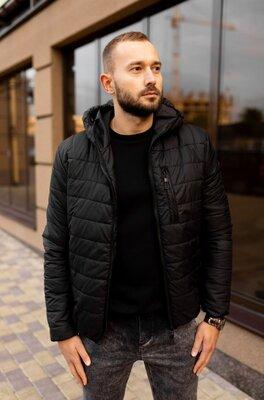 Мужская стеганая куртка, еврозима, 4 цвета