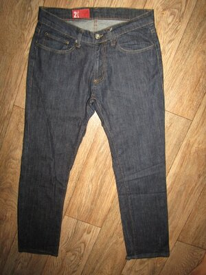 Продано: джинсы мужские укороченные джинсы р-р М бренд Zara