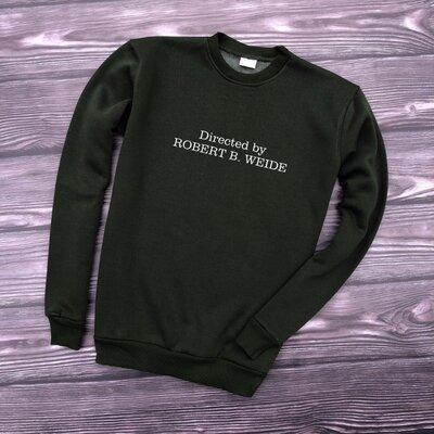 Свитшот оливковый Directed by robert b weide свитер кофта унисекс