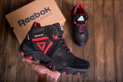 Мужские зимние кожаные ботинки Reebok
