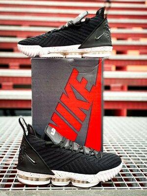Кроссовки Nike LeBron 16 Black/White