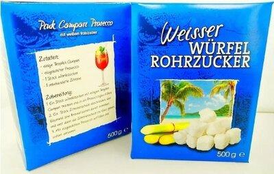 Сахар тростниковый белый Weisser Wurfel Rohrzucker 500g Германия