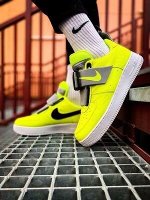 Кроссовки Nike Air Force 1 Utility Volt