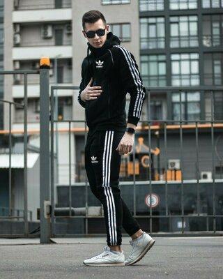 Спортивный костюм Adidas Zipper Treeze Олимпийка штаны теплый