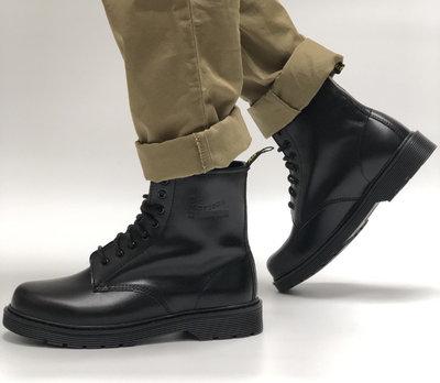 Мужские ботинки Dr.Martens Black кожа, демисезон