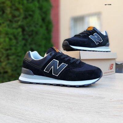 Мужские кроссовки 10300 Nеw Balance 574 SIN Чёрный