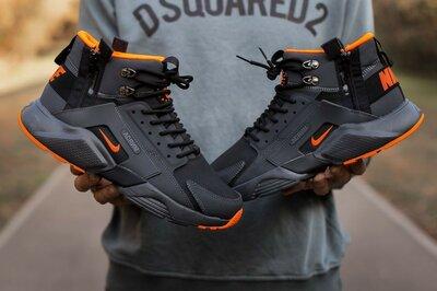 Кроссовки Nike Huarachi Acronym Termo Black Orange