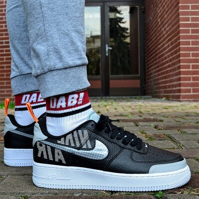 Nike Air Force 1 Max Gross 'Black White'