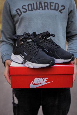 Nike Huarachi Acronym Termo Black White