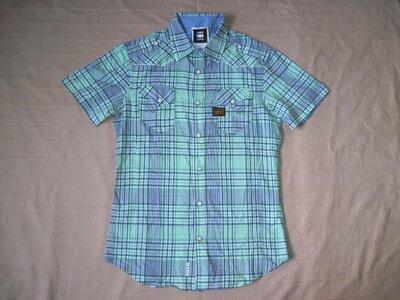 G-Star Raw S/M мужская рубашка натуральная