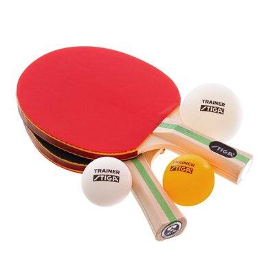 Набор для настольного тенниса детский Stiga Technique 1220081501 2 ракетки 3 мяча
