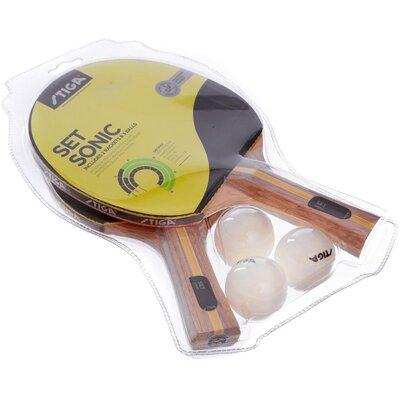 Набор для настольного тенниса Stiga Sonic 1220281601 2 ракетки 3 мяча