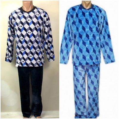 Пижама теплая мужская махровая костюм домашний