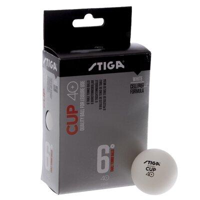 Набор мячей для настольного тенниса Stiga Cup 1110-25 6 мячей в комплекте