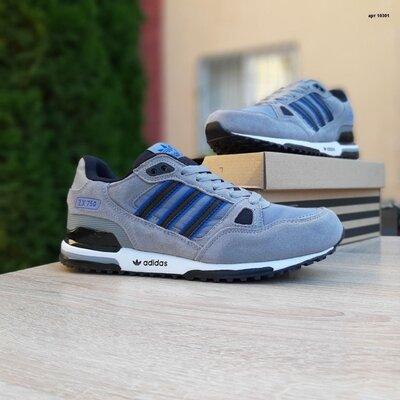 Кроссовки мужские Adidas zx 750 Серые 41-46р