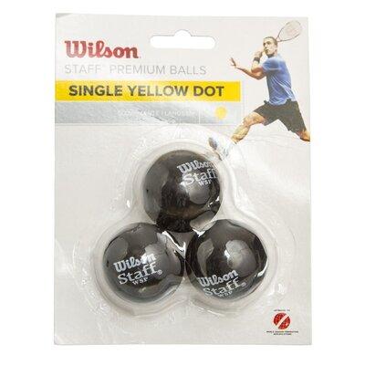 Мяч для сквоша Wilson Staff 618300 3 мяча в комплекте медленный мяч
