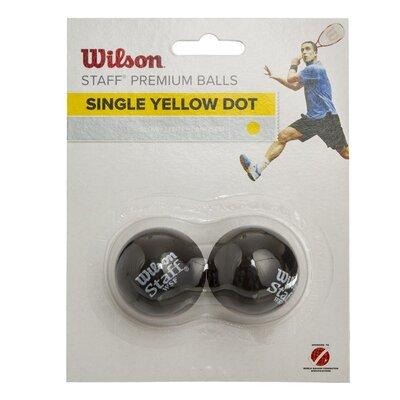 Мяч для сквоша Wilson Staff 617800 2 мяча в комплекте медленный мяч