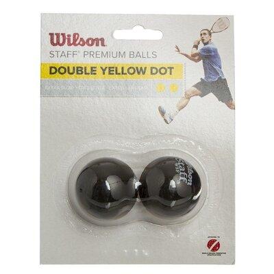Мяч для сквоша Wilson Staff 618100 3 мяча в комплекте сверхмедленный мяч