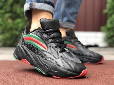 Модные мужские кроссовки,черные