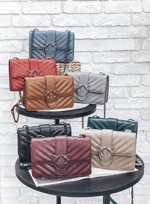 Сумка сумка на длинной ручке cross-body сумочка трендовая и стильная кроссбоди pinko