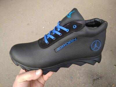 Ботинки/кроссовки натуральная кожа jordan