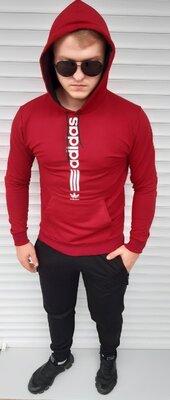 Мужской спортивный костюм Adidas Адидас Мж-6232 пенье двухнитка расцветки