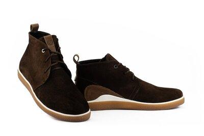 Замшевые демисезонные ботинки, мягкие и комфортные