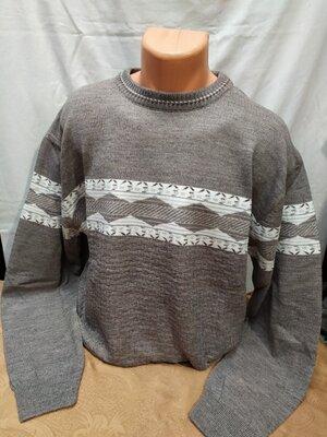 Красивый , нарядный свитер, джемпер большого размера. Турция