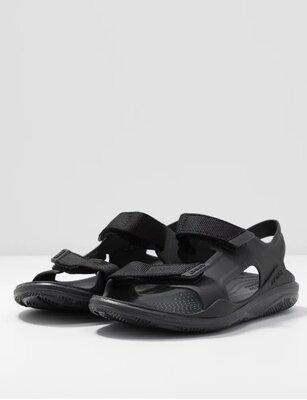босоножки, крокс Сандалии Crocs Men´s Swiftwater Expedition Sandal, цвет - Black / Black ,