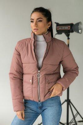 Модная куртка-пуховик, жіноча куртка осінь/весна, теплая куртка