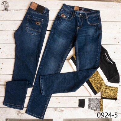 Демисезонные мужские синие джинсы, р 29-38