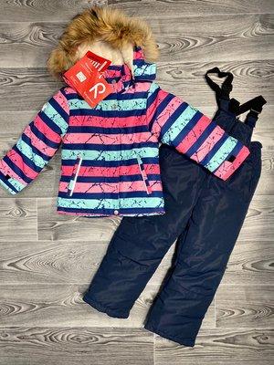 Детский термокомбинезон для девочки 98-122 Польша