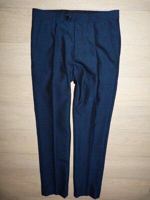 Классические брюки Next красивого синего цвета размер 28S