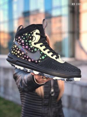 Nike LF1 DUCKBOOT 17 черные/ звездочки