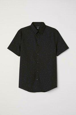 Рубашка Slim Fit H&M Размер s