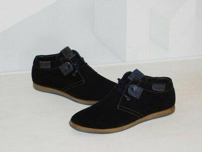 Ботинки осень замшевые мужские