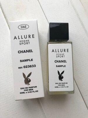 Chanel allure homme sport edp 60ml pheromon tester
