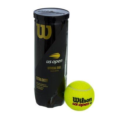 Мяч для большого тенниса Wilson Open Extra Duty 106200 3 мяча