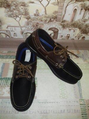 Мокасины кожаные Marks&Spencer Shoelite 27 см