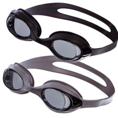 Очки для плавания MadWave Stretchy 043101 2 цвета поликарбонат, силикон