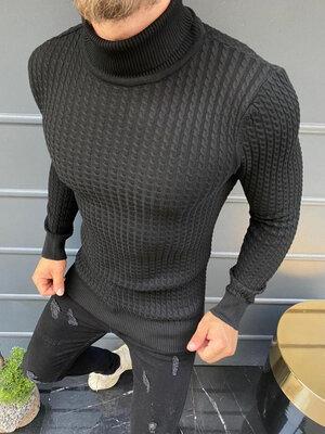 Стильный мужской свитер,3 цвета S-M-L-XL