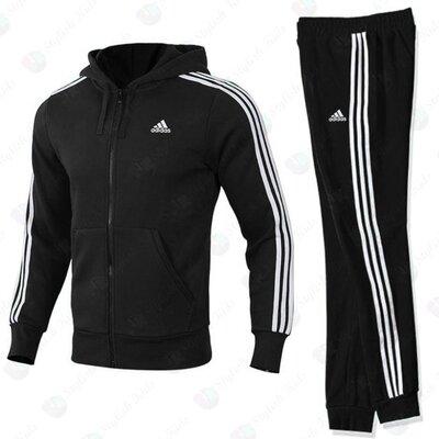 Утепленный спортивный костюм Адидас детский подростковый