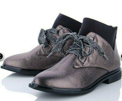 Акция Женские осенние ботинки