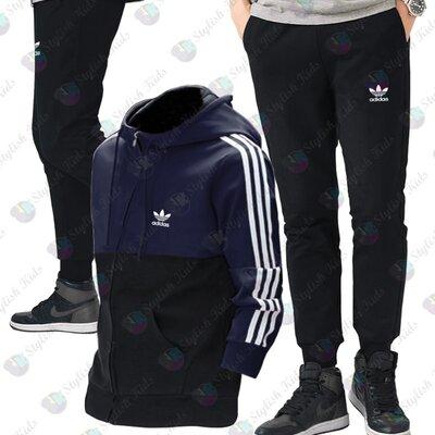 Теплый спортивный костюм Адидас для мальчика 128р - 170р
